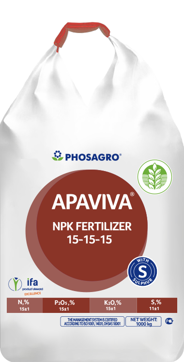 Fertilizante complejo universal NPK(SO₃)